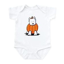 Punkin' Westie Infant Bodysuit