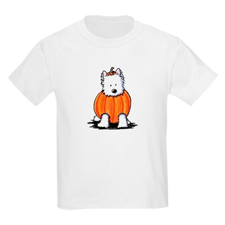 Punkin' Westie Kids Light T-Shirt