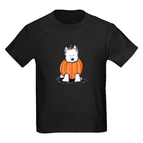Punkin' Westie Kids Dark T-Shirt