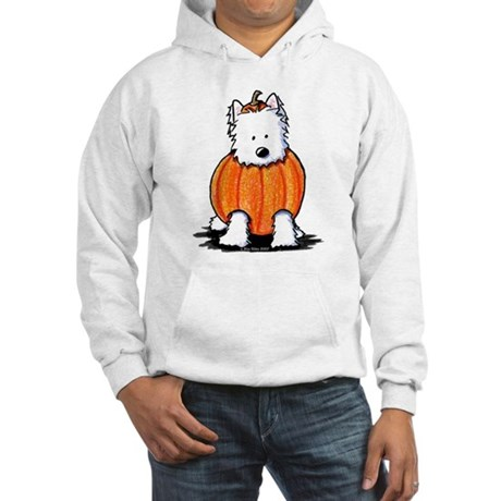 Punkin' Westie Hooded Sweatshirt