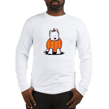 Punkin' Westie Long Sleeve T-Shirt