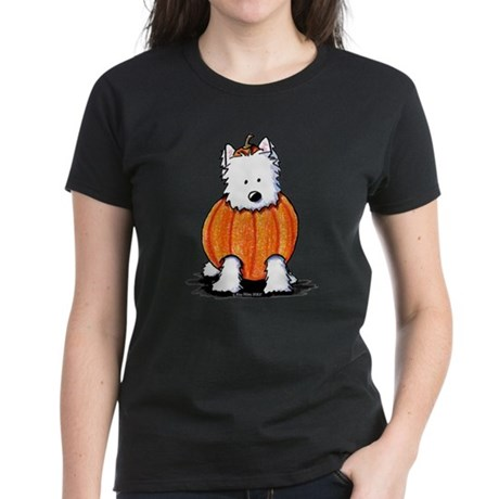 Punkin' Westie Women's Dark T-Shirt