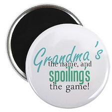 "Grandma's the Name! 2.25"" Magnet (100 pack)"