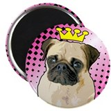Pug Princess Magnet