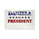 DANIELA for president Rectangle Magnet