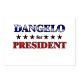 DANGELO for president Postcards (Package of 8)