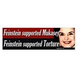 Feinstein Supports Torture and Mukasey