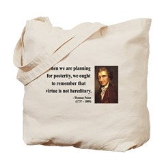 Thomas Paine 12 Tote Bag