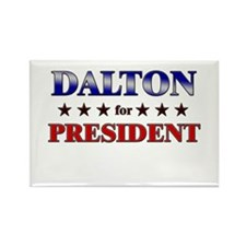 DALTON for president Rectangle Magnet