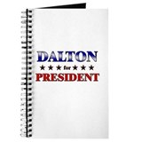 DALTON for president Journal