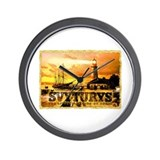 Svyturys Light House Wall Clock