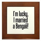 Married a Bengali Framed Tile