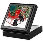 Schnauzer Christmas Keepsake Box