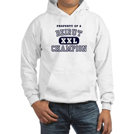 Property of a Beirut Champion Hooded Sweatshirt