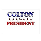 COLTON for president Postcards (Package of 8)