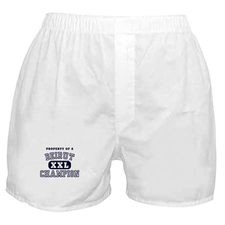 Property of a Beirut Champion Boxer Shorts
