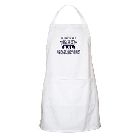 Property of a Beirut Champion BBQ Apron