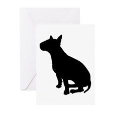 Bull Terrier Dog Breed Greeting Cards (Pk of 20)
