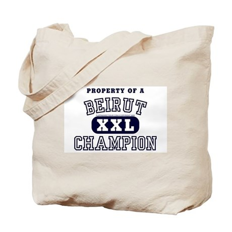 Property of a Beirut Champion Tote Bag