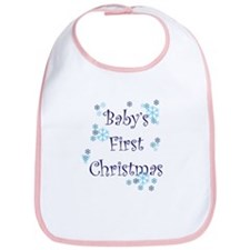 Baby's First Christmas - Snow Bib