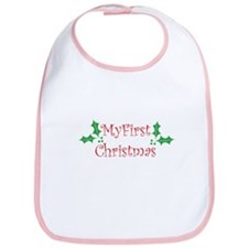 Baby's First Christmas - Mist Bib