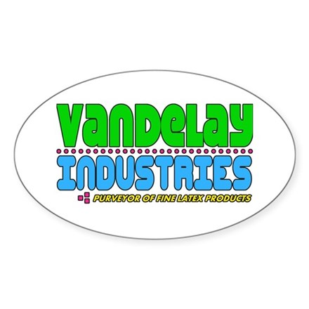 Vandelay Industries Oval Sticker