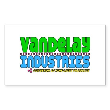 Vandelay Industries Rectangle Sticker