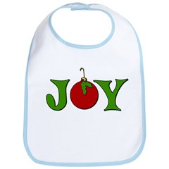 Christmas Joy Bib