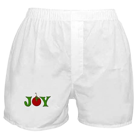 Christmas Joy Boxer Shorts