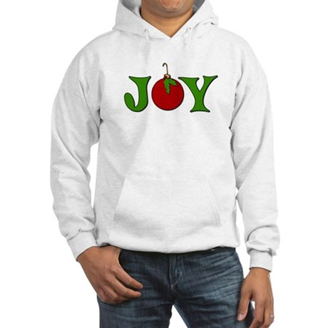 Christmas Joy Hooded Sweatshirt