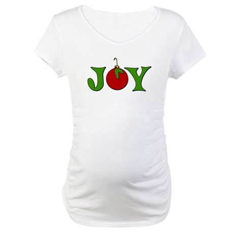 Christmas Joy Maternity T-Shirt