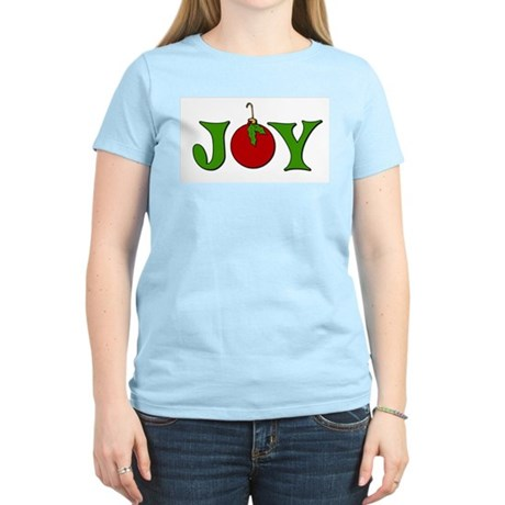 Christmas Joy Women's Light T-Shirt