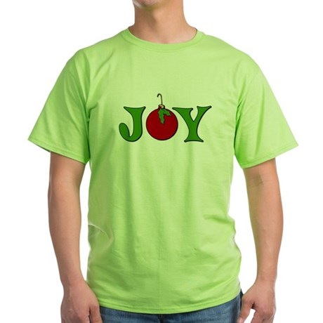 Christmas Joy Green T-Shirt