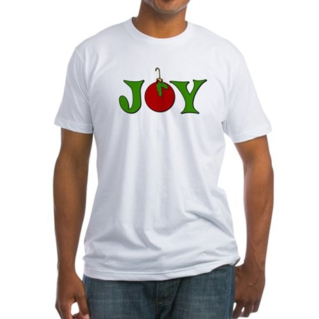 Christmas Joy Fitted T-Shirt