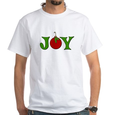 Christmas Joy White T-Shirt