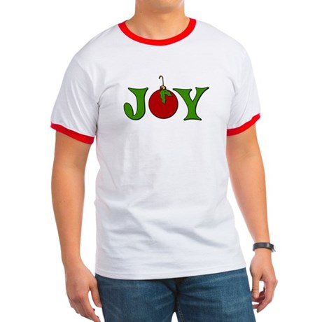 Christmas Joy Ringer T