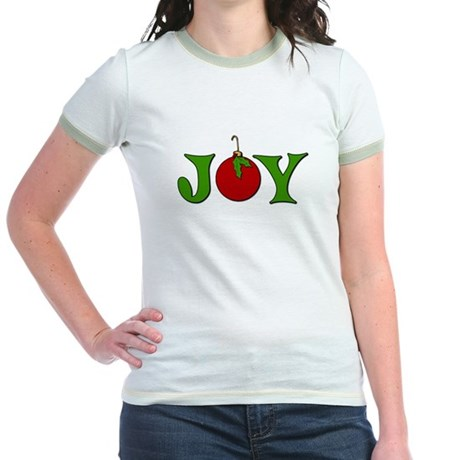 Christmas Joy Jr. Ringer T-Shirt