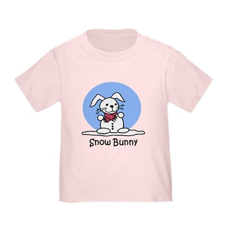 Snow Bunny Toddler T-Shirt