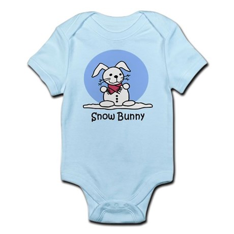Snow Bunny Infant Bodysuit