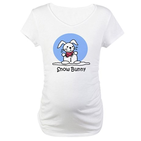 Snow Bunny Maternity T-Shirt
