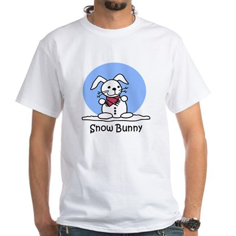Snow Bunny White T-Shirt