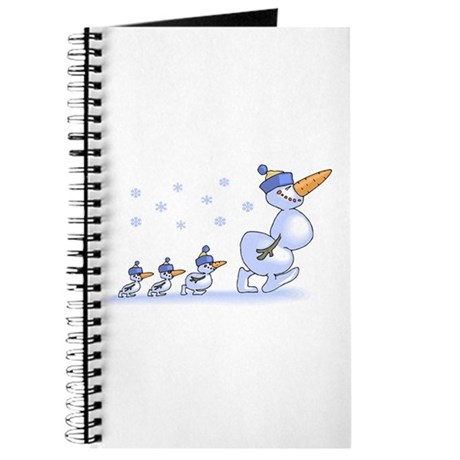 Snowman Family Journal
