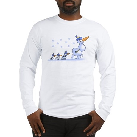 Snowman Family Long Sleeve T-Shirt