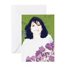Walks in beauty: Linda Greeting Card