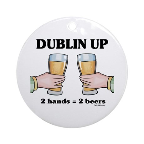 Dublin Up Ornament (Round)