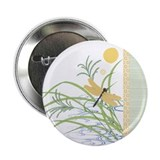 "Dragonfly in Rice Field 2.25"" Button (10 pack)"