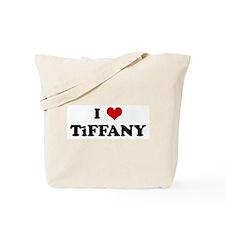 I Love TiFFANY Tote Bag