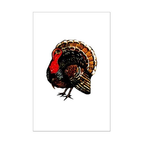 Thanksgiving Turkey Mini Poster Print