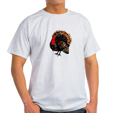 Thanksgiving Turkey Light T-Shirt