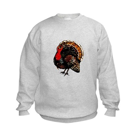 Thanksgiving Turkey Kids Sweatshirt